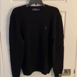 NEW Polo Ralph Lauren Cable Wool-Cashmere Sweater